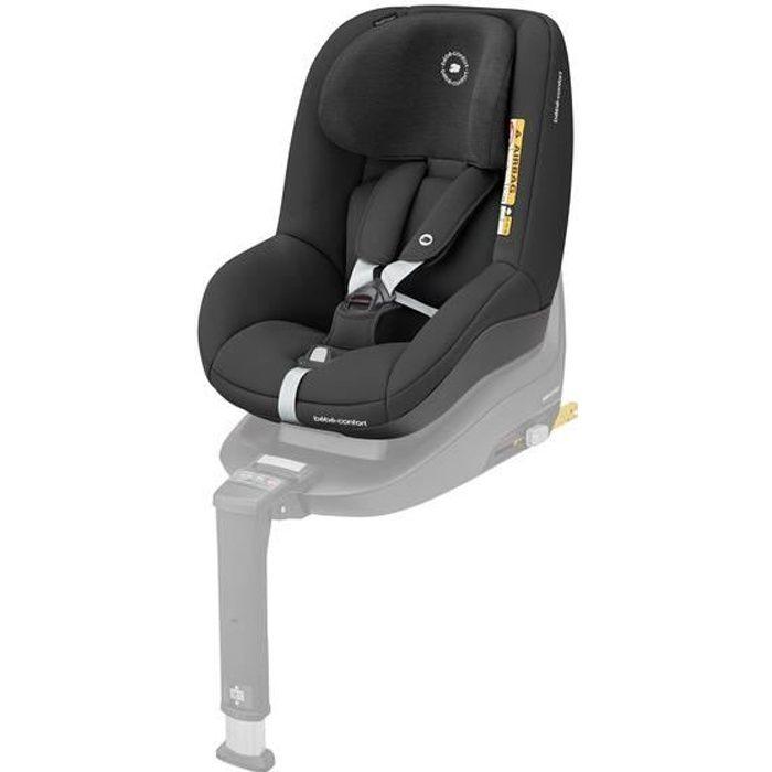 BEBE CONFORT siège auto Pearl Smart i-Size, De 6 mois à 4 ans, Dos et face à la route, Authentic Black