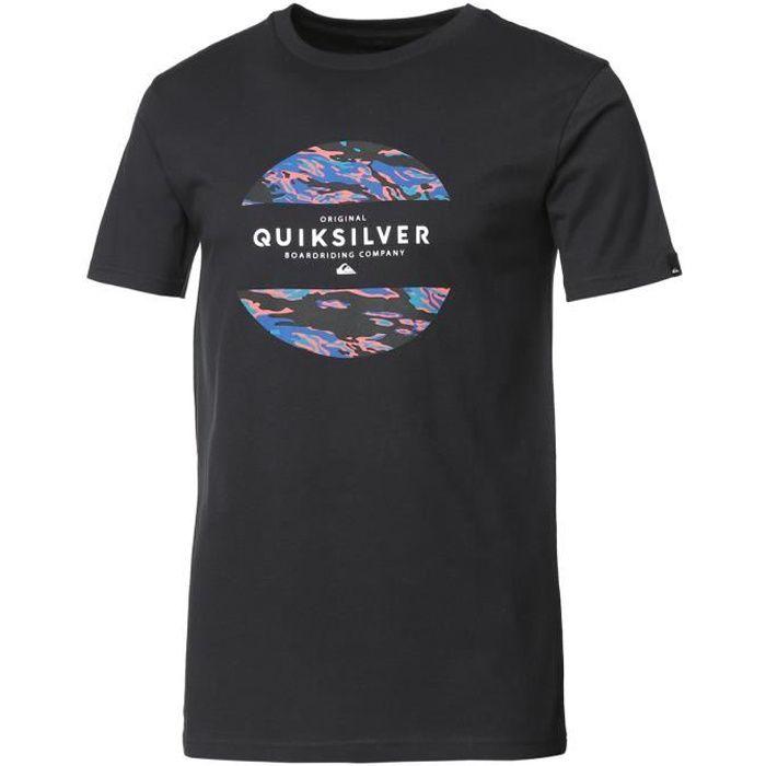QUIKSILVER T-Shirt Mixed - Homme - Noir