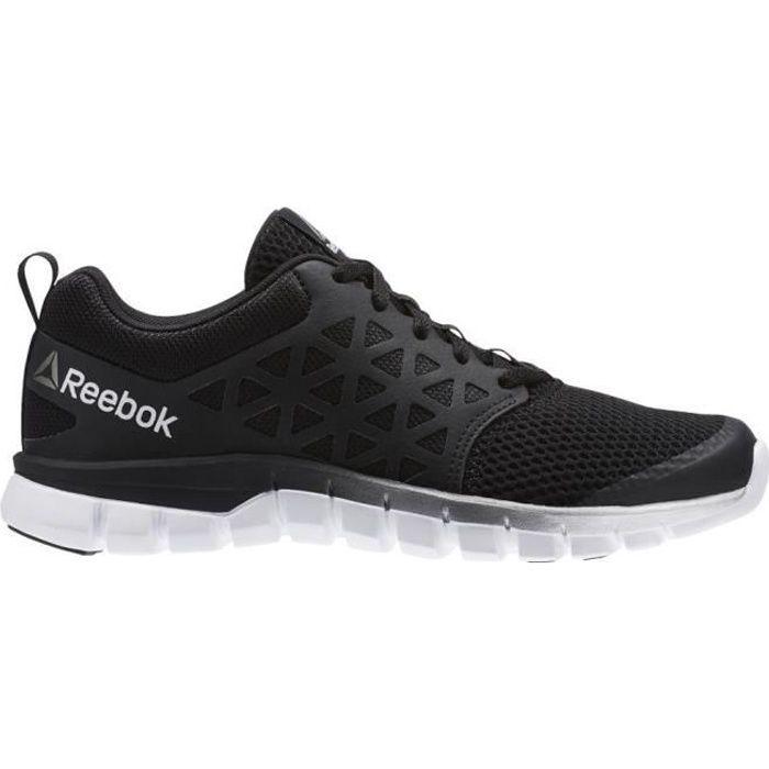 Chaussures Reebok Sublite XT Cushion Blacksilverwhitep