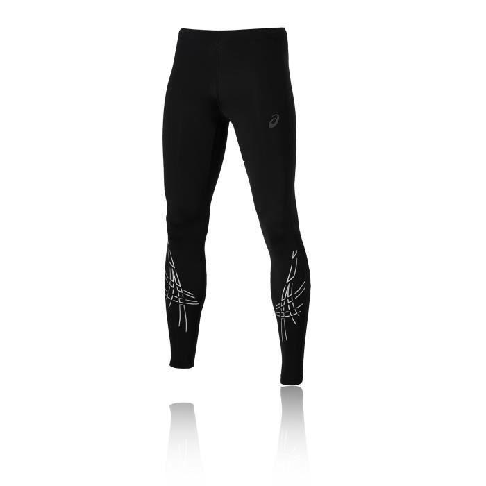 Asics Hommes Rayure Legging Running Sport