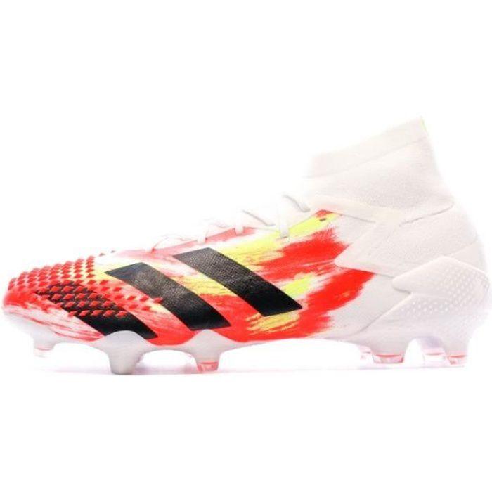Predator 20.1 FG Chaussures de foot blanches Adidas Mutator