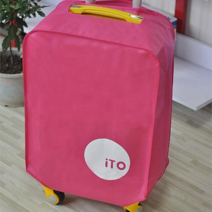 Protecteur de couverture de bagages étanche à la poussière pliable pour valise VELO DE VILLE - BEACH CRUISER - VELO HOLLANDAIS