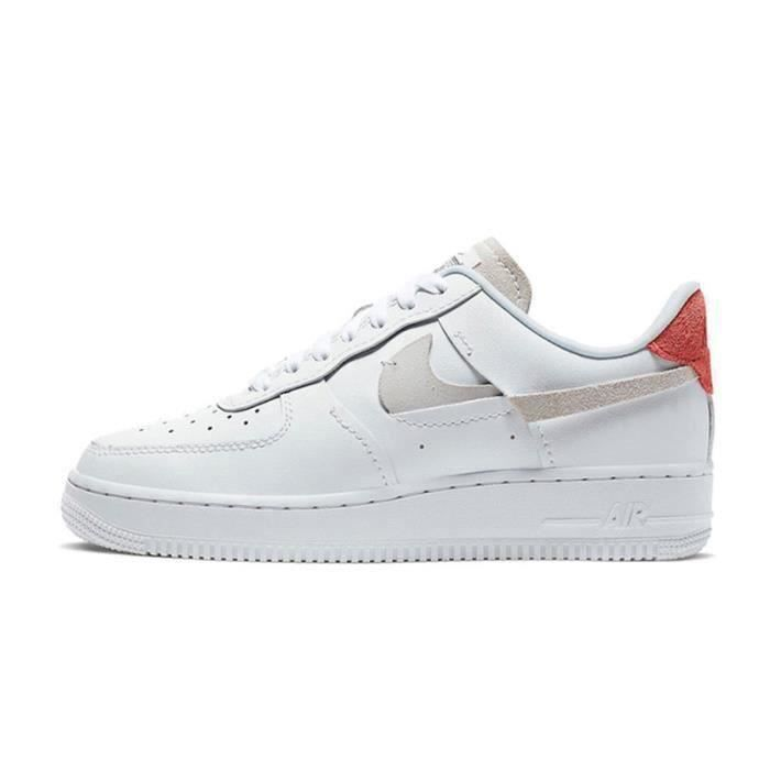 Basket Air Force 1 Air Force One AF 1 Low Chaussures de Running Femme 898889-1103