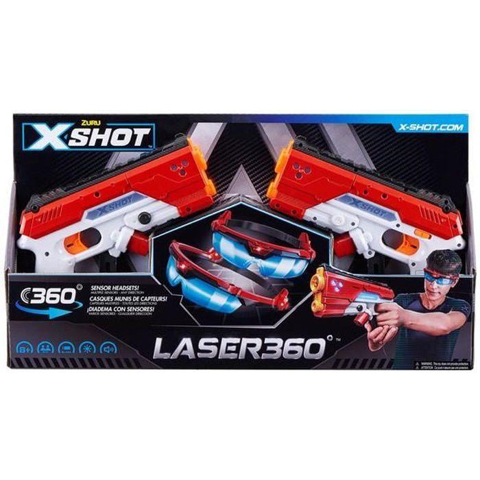 PISTOLET LASER X2 ME SUPERSTARS
