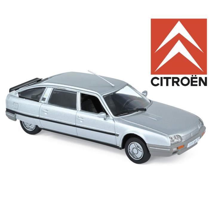 Voiture de Collection CITROËN CX Turbo 2 Prestige Argent De 1986 1/43 Norev