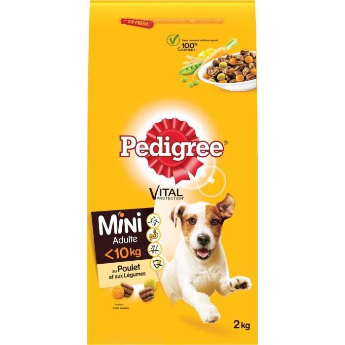 PEDIGREE Croquettes volaille légumes chien 2 kg