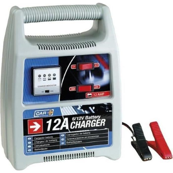 Chargeur de batterie 6v/12v 12AMP Voiture , Camping Car