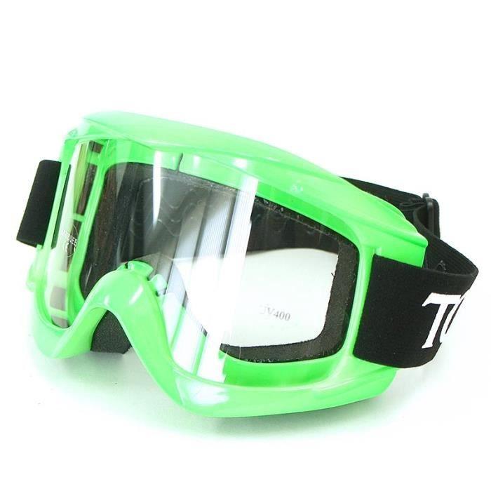Masque TORX - Vert - Dirt bike / Pit bike / Mini Moto