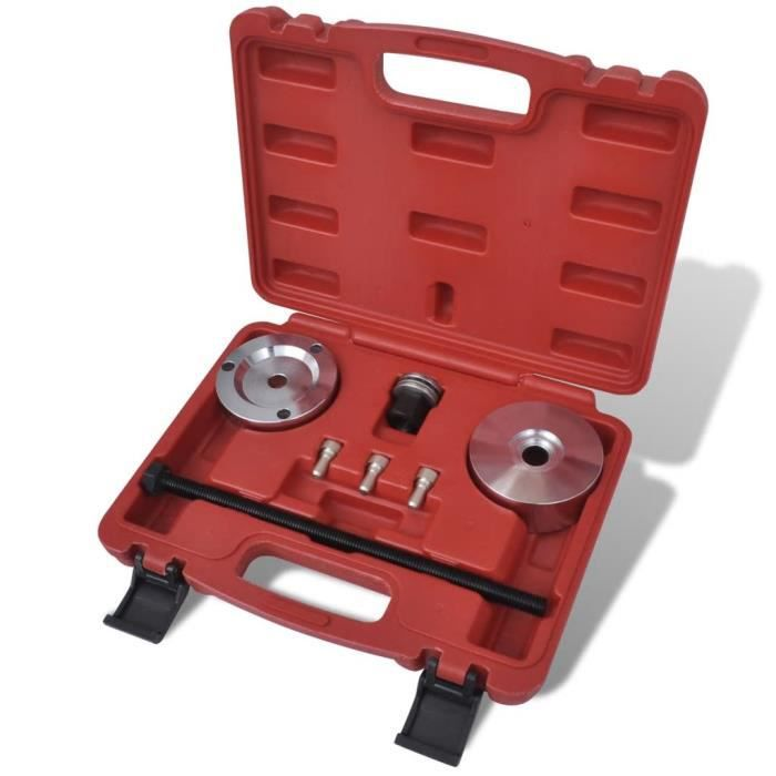 Outil de montage de silent bloc pour essieu arrière de Fiat