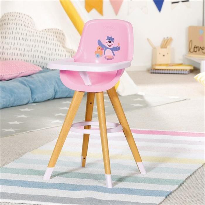 BABY Born Chaise haute pour poupée de 43 cm