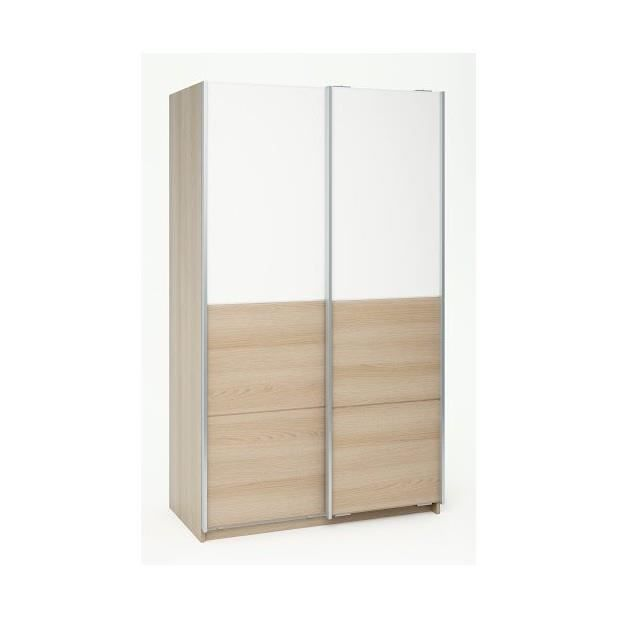 130 armoire 2 portes coulissantes blanche ikea pictures to - Rail porte coulissante ikea ...