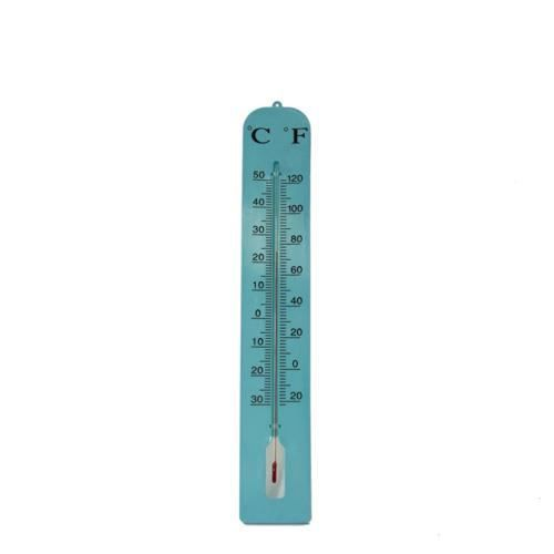 Thermom tre g ant turquoise achat vente thermom tre for Thermometre geant exterieur