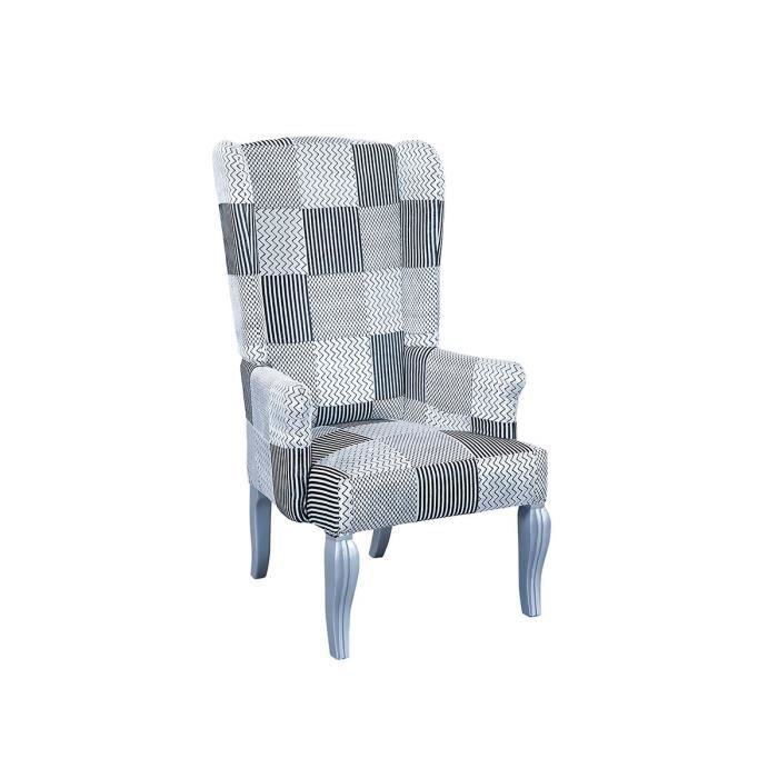 domino fauteuil berg re gris achat vente fauteuil gris cdiscount. Black Bedroom Furniture Sets. Home Design Ideas