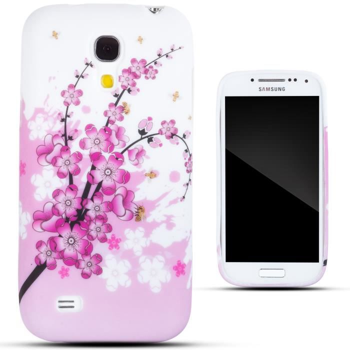 zooky rose fleurs coque samsung galaxy s4 mini achat. Black Bedroom Furniture Sets. Home Design Ideas