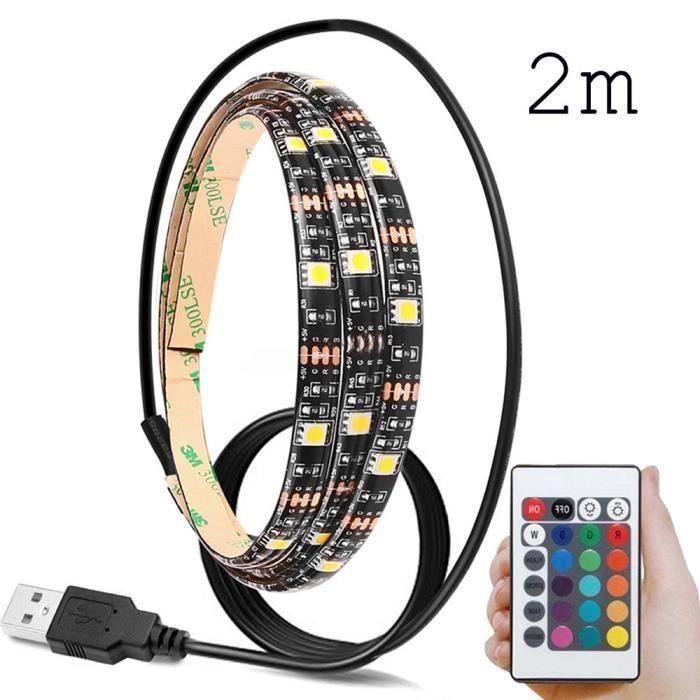 BANDE - RUBAN LED 5V 5050 60SMD - M RGB LED Barre de Lumière Bar TV