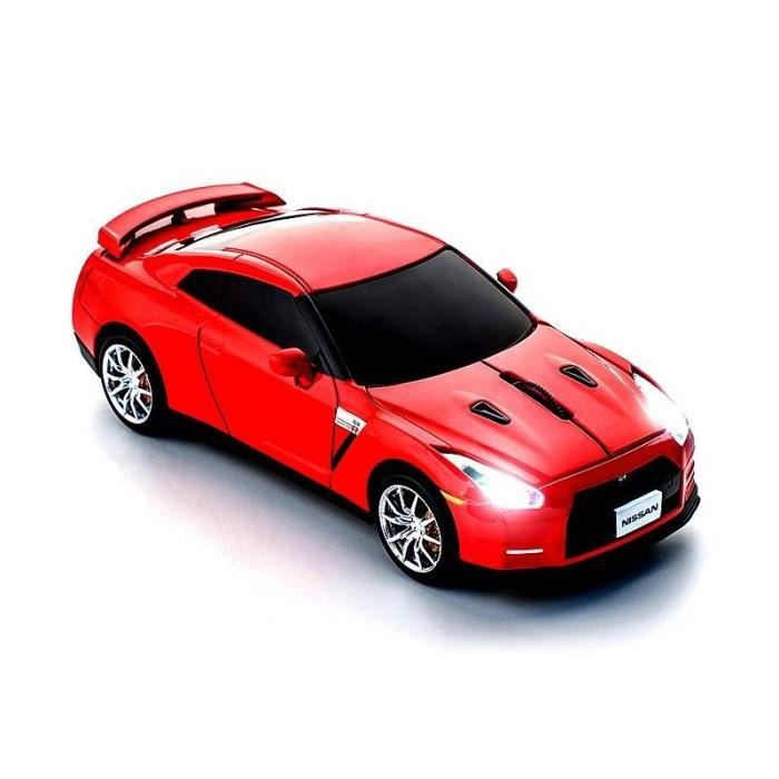 souris sans fil 2 4 ghz nissan gt r r35 rouge prix pas cher cdiscount. Black Bedroom Furniture Sets. Home Design Ideas