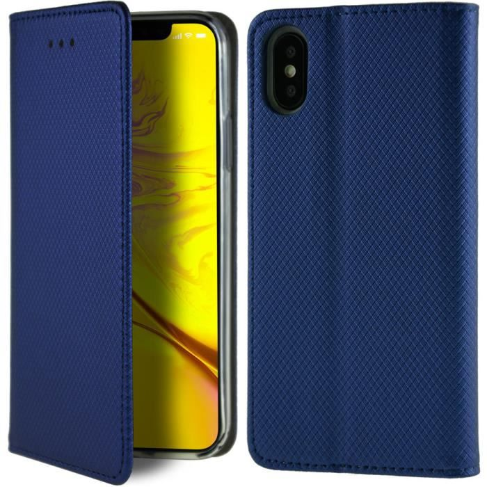 coque iphone xs blue clair