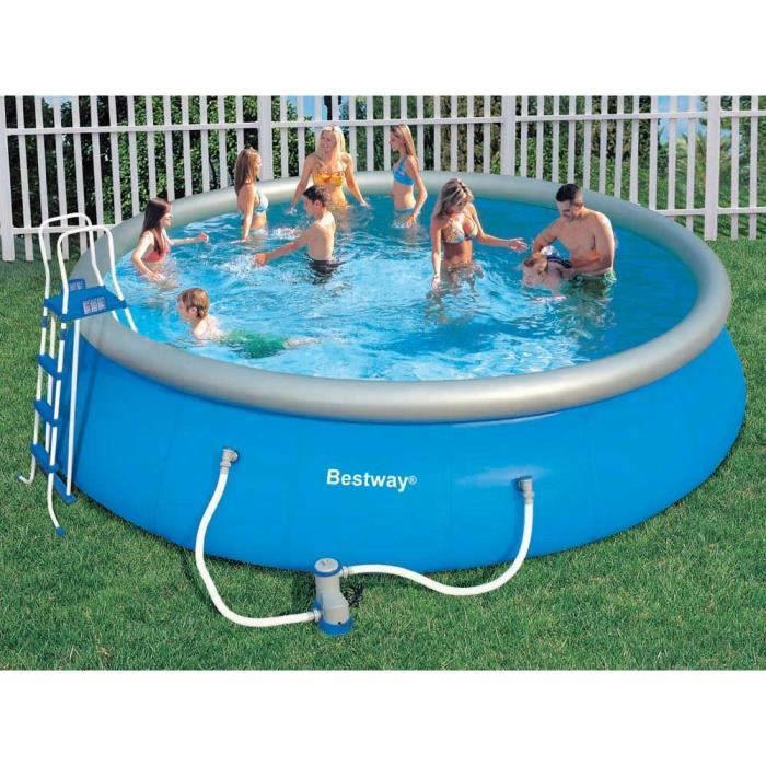 Piscine autoportante ronde thermom tre achat for Piscine autoportante
