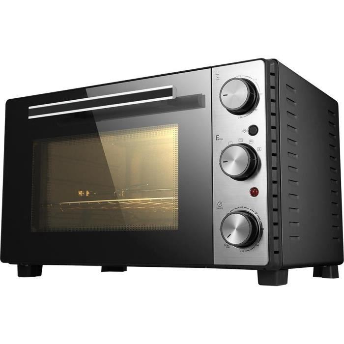 Brandy Best Chef350lux N Mini Four Noir 35 Litres Chaleur Brasse
