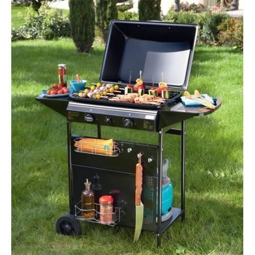 Barbecue a gaz zinnia achat vente barbecue barbecue a gaz zinnia cdiscount - Vente privee barbecue gaz ...