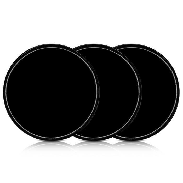 kwmobile 3X Pastille adh/ésive Universelle Support pour Smartphone navigateur GPS Vignette Gel Autocollant Double-Face antid/érapant Silicone