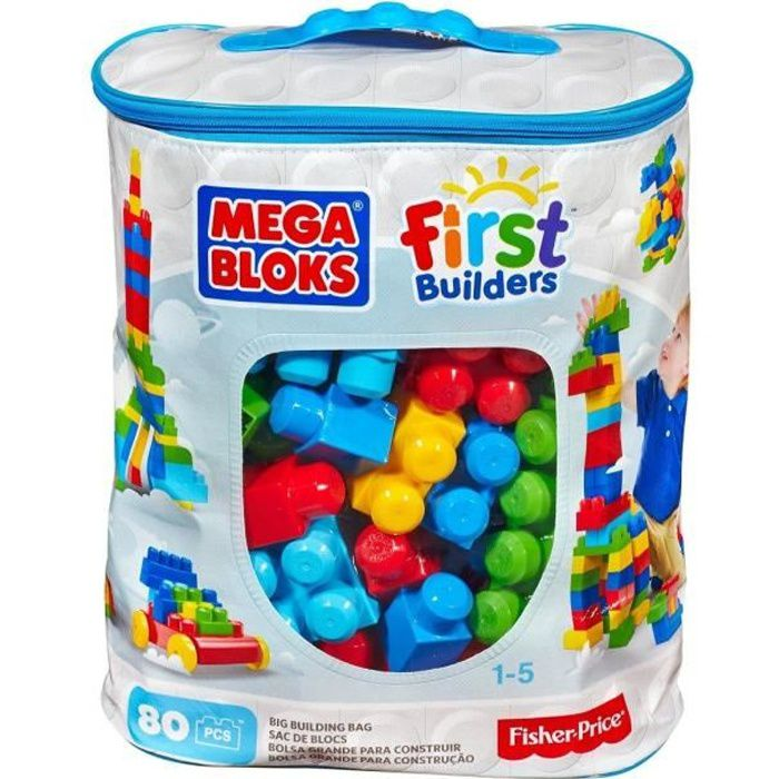 Mega bloks first builders sac 80 briques achat vente for Builders first