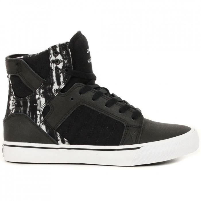 Supra Skytop Unisexe Baskets Purple Noir