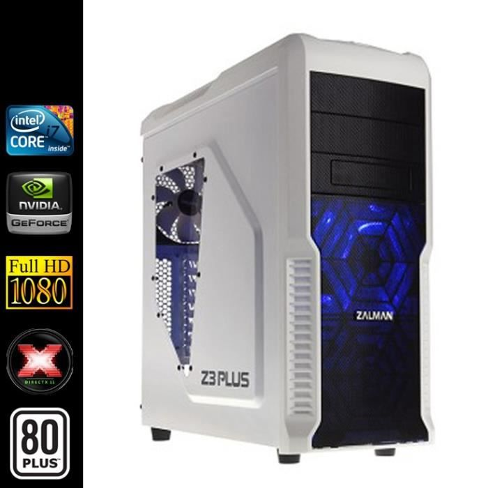 pc gamer intel i7 4x3 6ghz gtx960 16go ram prix pas. Black Bedroom Furniture Sets. Home Design Ideas