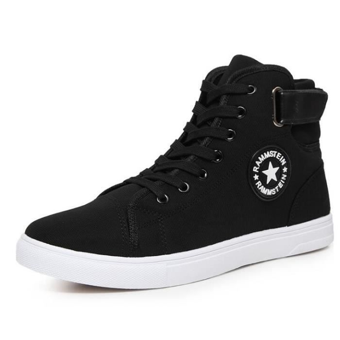 montantes Chaussure Homme Shoes Basket Homme chaussures Skate Mode dxUd1