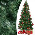 Sapin de Noël Pop-up Arbre Artificiel 150 cm avec 333 Branches Pied fourni Décoration Noel Maison