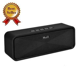 ENCEINTE NOMADE Muzili Enceinte Bluetooth portable sans Fil Haut p