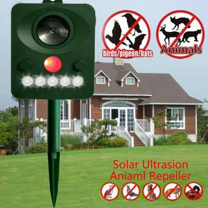 RÉPULSIF NUISIBLES JARDIN Repulsif Solaire a ultrasons anti chat, chien, ois