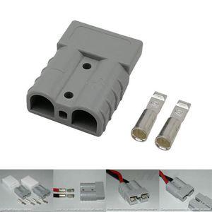CHARGEUR DE BATTERIE 1 paquet de 50 Amp Plug Power Pole électrique Char