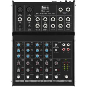 TABLE DE MIXAGE Table de mixage audio 4 canaux