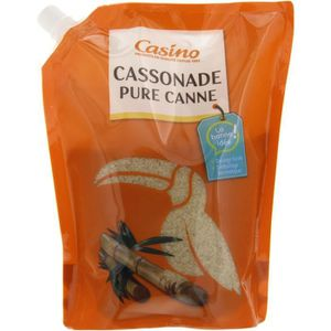 Cassonade pure canne - Doypack-750g