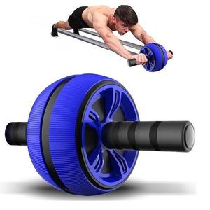Roue abdominale AB Trainer AB Wheel Appareil pour abdominaux AB Roller Deluxe
