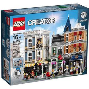 ASSEMBLAGE CONSTRUCTION LEGO® CREATOR 10255 La Place de l'Assemblée