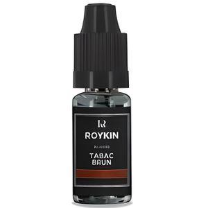 LIQUIDE E-liquide arôme tabac brun Roykin 16 mg / 10ml