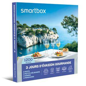 COFFRET SÉJOUR SMARTBOX - Coffret Cadeau - 3 jours d'évasion gour