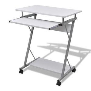 TABLE DE RÉUNION Table de bureau blanche pour ordinateur