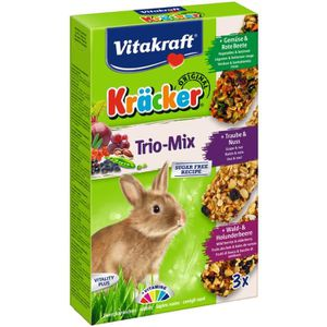 FRIANDISE VITAKRAFT Kräcker Trio-Mix Raisin noix, légumes be