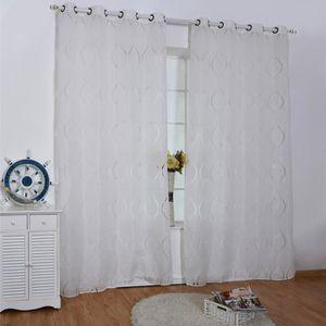 VOILAGE Rideau Voilages Vagues Fenêtre Décoration Salon Ch