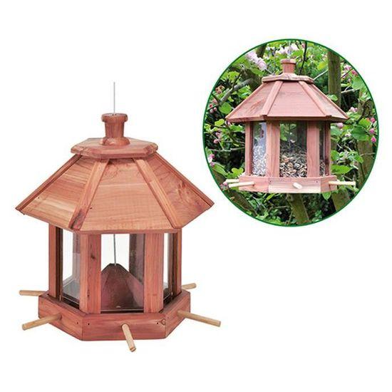 Suspendu Mangeoire Oiseau Bain Oiseaux Sauvages station d/'alimentation décoration de jardin arbre