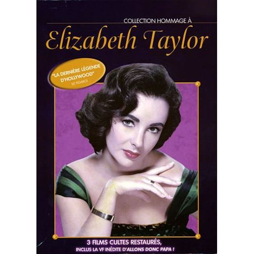 DVD Hommage à Elizabeth Taylor