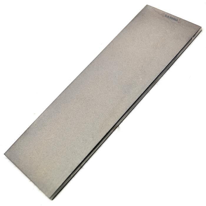 6 pierre à affûter diamant professionnel- / Grain fin supplémentaire pour toutes les lames TE564