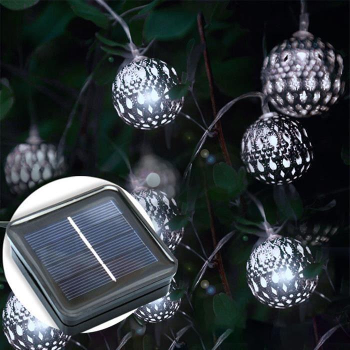 BANDE LED - RUBAN LED LED10 solaire Powe fée lumière chaîne lampe Party Décor extérieur Lumière Chaîne_u4519 Jeffrey 4206 zl