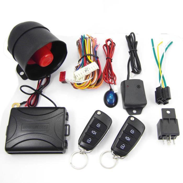 Systèmes d'alarme de voiture à télécommande et clé de sécurité pour Toyota