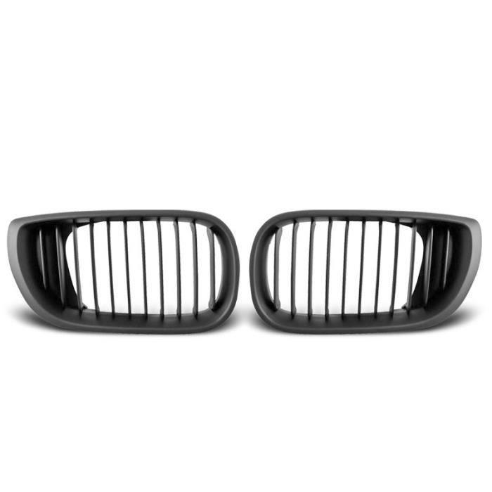 Paire de grilles de calandre BMW serie 3 E46 01-05 berline noir (M16)