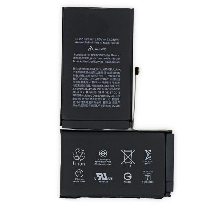 -Batterie 3179mAh pour iPhone XS Max