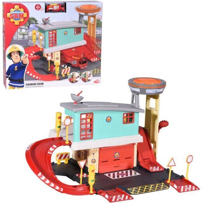 Caserne de pompiers 2 étagesincl. Die-Cast JupiterDimensions de l'emballage: 9,5 x 43,5 x 38,5 cmConvient aux enfants à partir